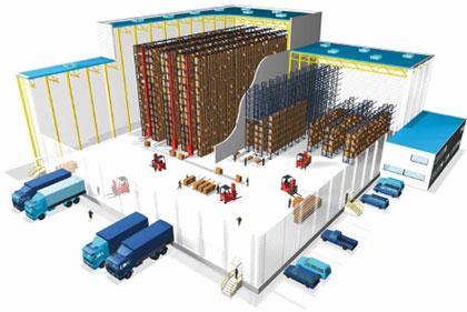 servizio di logistica e gestione magazzino