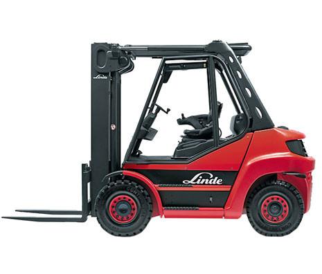Carrello nuovo H 50-80/1100 Serie 396 Linde
